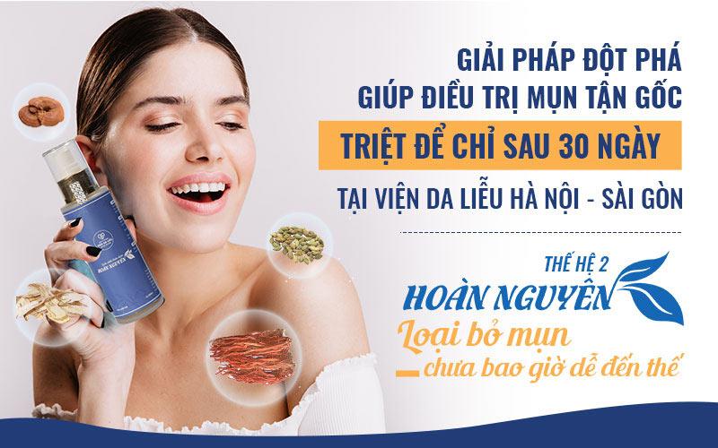 Bộ sản phẩm Hoàn Nguyên của Viện Da liễu Hà Nội - Sài Gòn