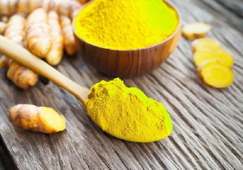 Các hoạt chất chứa trong tinh bột nghệ có tác dụng trị thâm vùng kín hiệu quả