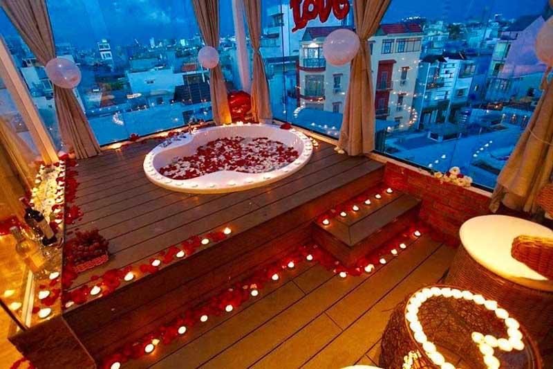 Tạo không gian lãng mạn để tăng ham muốn