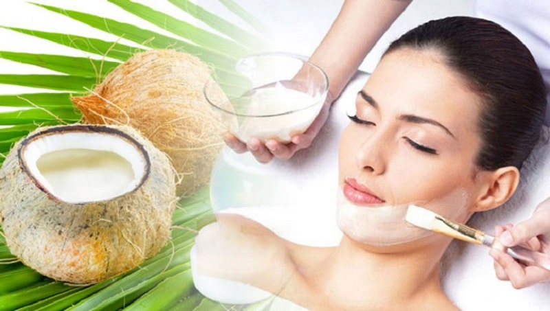 Trị nám bằng dầu dừa nguyên chất giúp làn da khỏe mạnh