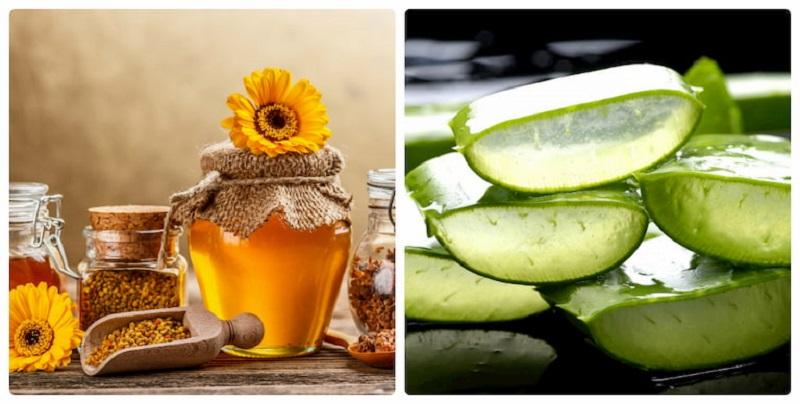 Mật ong có chứa hàm lượng cao, do vậy có khả năng sát khuẩn vào bảo vệ da rất tốt