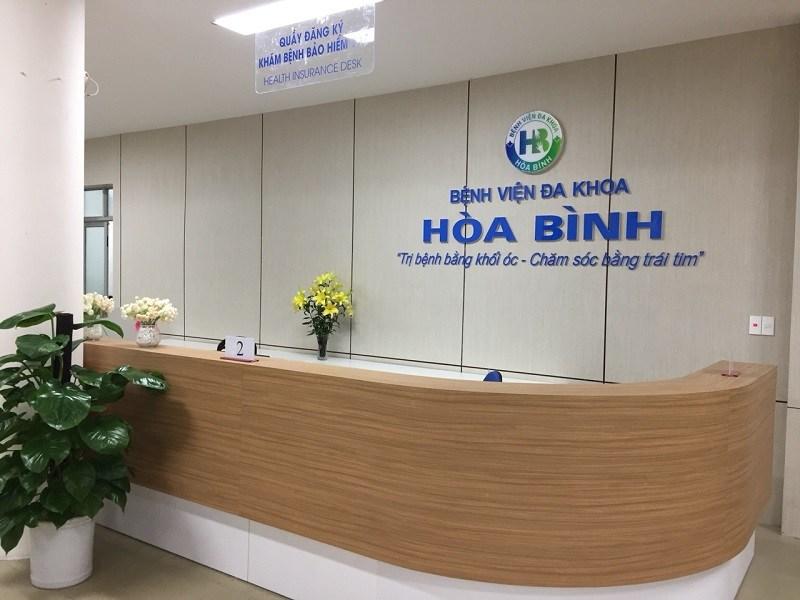 Bệnh viện Hòa Bình điều trị các bệnh nam khoa hiệu quả, uy tín