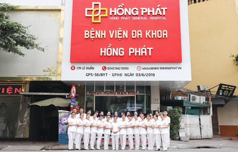 Bệnh viện đa khoa Hồng Phát là nơi chữa xuất tinh sớm ở Hải Phòng chất lượng