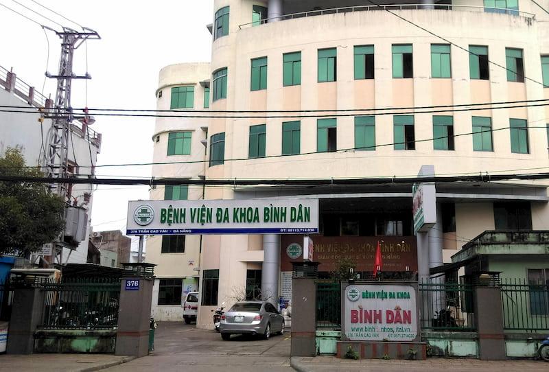 Bệnh viện đa khoa Bình Dân tại Đà Nẵng - cơ sở chữa xuất tinh sớm uy tín