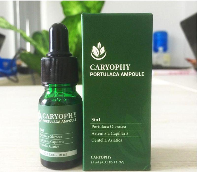 Caryophy được chiết xuất từ thành phần thiên nhiên