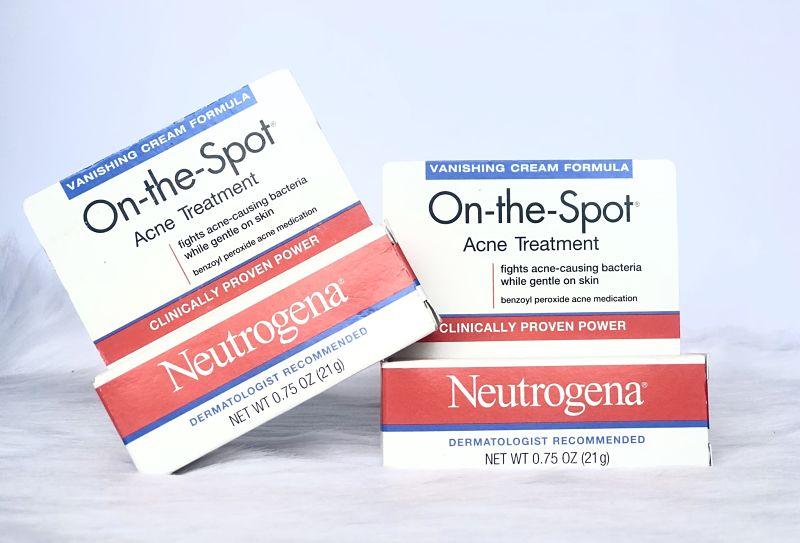 Neutrogena thích hợp trị mụn đầu đen cho nam giới