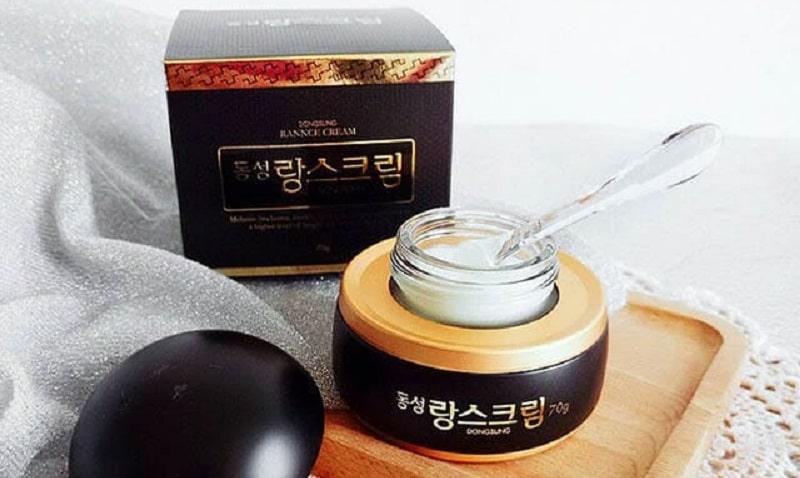 Sản phẩm trị nám da Dongsung rannce cream có xuất xứ từ Hàn Quốc