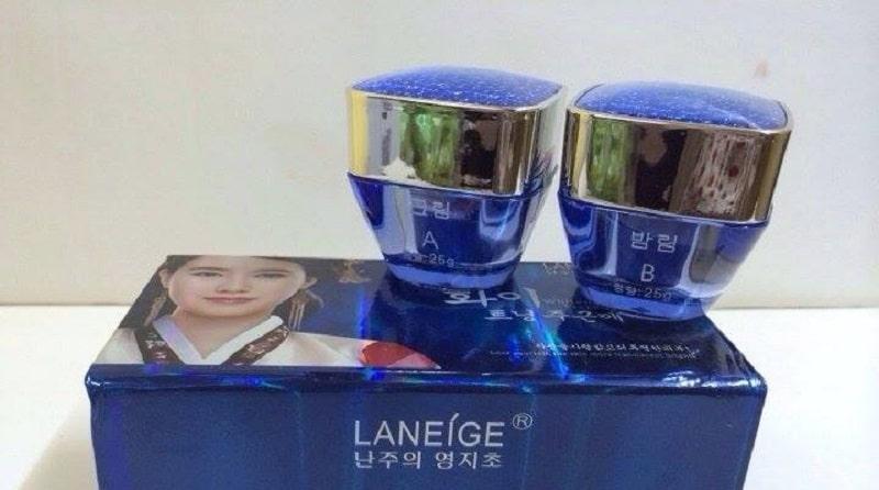 Kem trị nám Laneige được sản xuất từ Hàn Quốc là dòng sản phẩm bán chạy trên thị trường