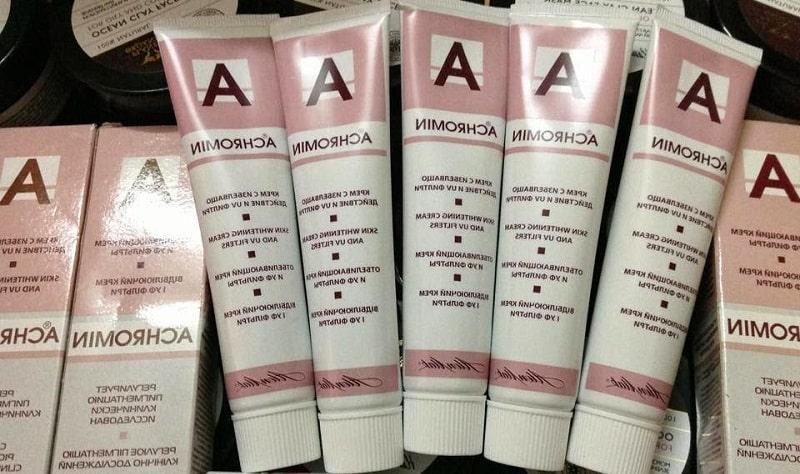 Kem trị nám Achromin có chứa thành phần chiết xuất nguồn gốc tự nhiên, an toàn