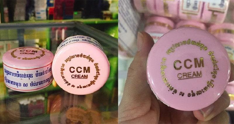 CCM là bộ sản phẩm chuyên biệt về nám và tàn nhang