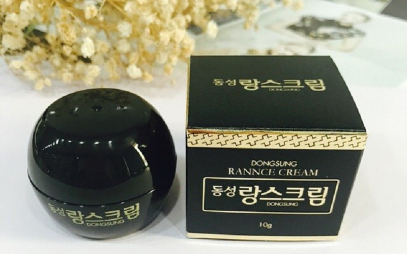 Kem trị nám Dongsung được sản xuất tại Hàn Quốc, sau đó nhập khẩu sang nhiều quốc gia khác
