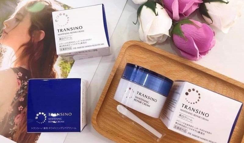 Kem trị nám transino là sản phẩm của thương hiệu mỹ phẩm Transino