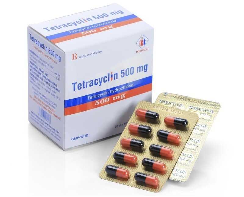 Thuốc kháng sinh đường uống giúp ức chế sự phát triển của vi khuẩn P.acnes