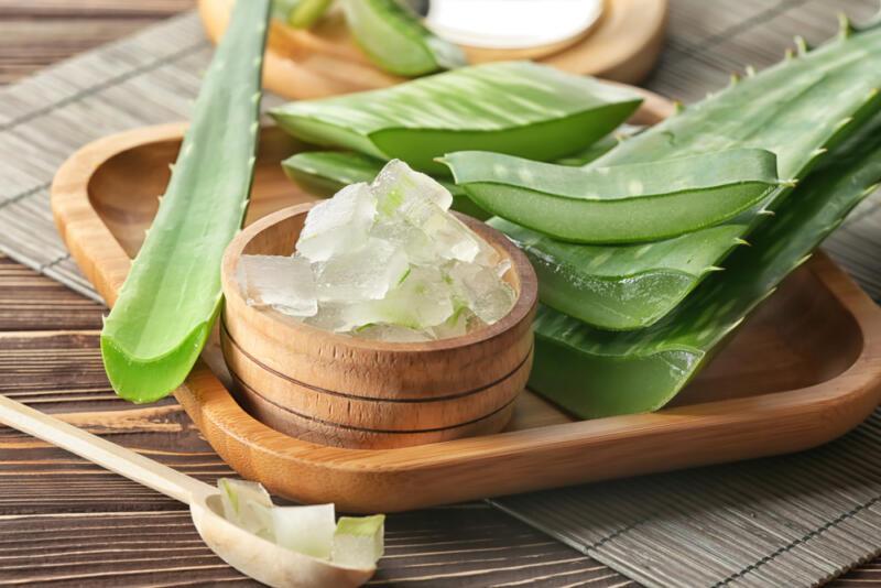 Nha đam sẽ ngăn ngừa các nốt mụn sưng viêm đồng thời làm lành da hiệu quả