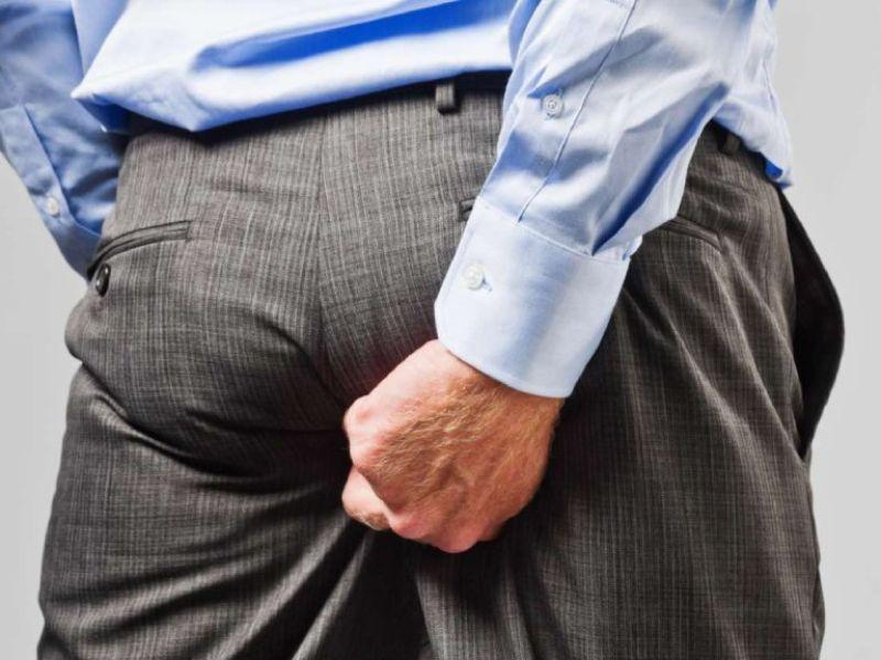 Bị mề đay mẩn ngứa ở mông