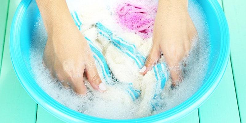 Giặt quần áo bằng nước Anolyte