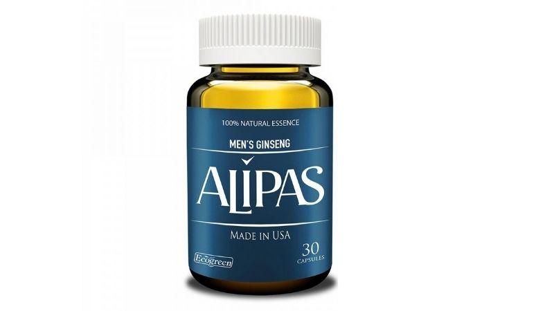 Sâm Alipas là thực phẩm chức năng của công ty St. Paul Brands, Mỹ