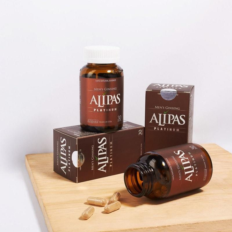 Sâm Alipas Platinum là thực phẩm chức năng giúp cải thiện tình trạng yếu sinh lý