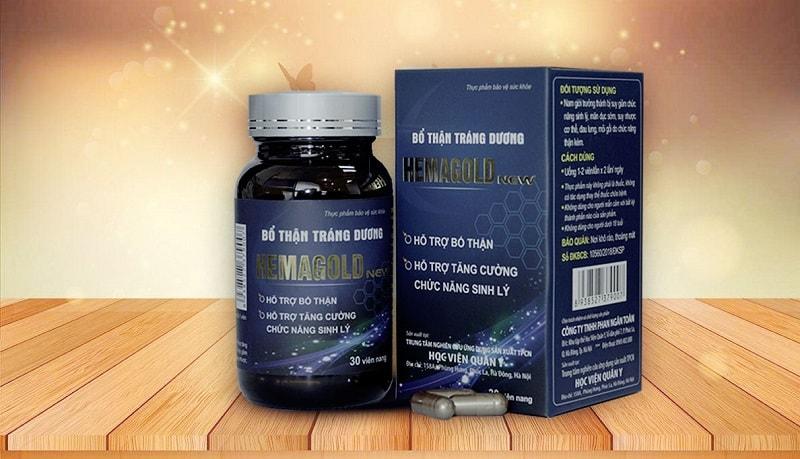 Hemagold hỗ trợ chữa xuất tinh sớm