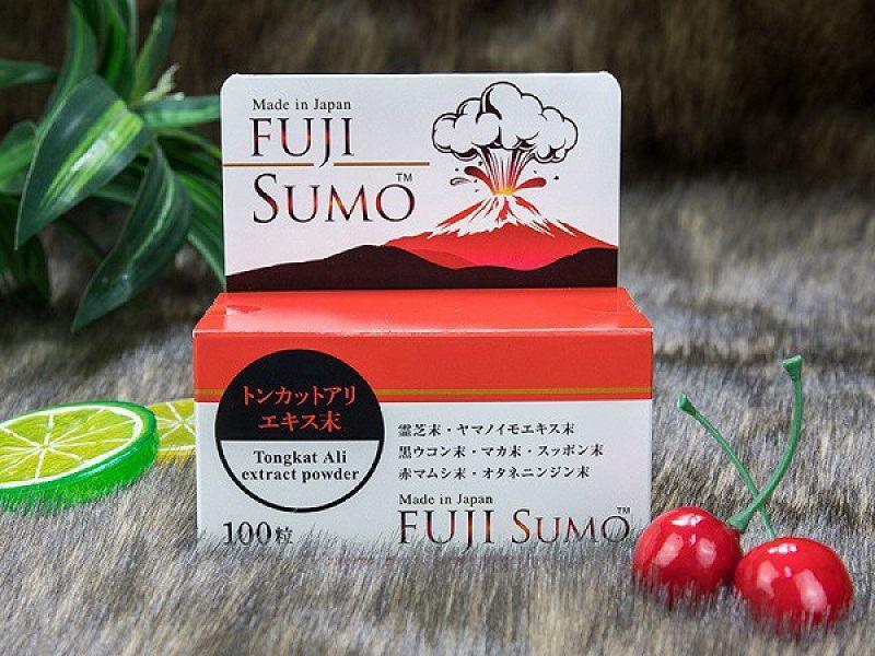 Fuji Sumo là loại thuốc giúp bổ thận, tráng dương, kéo dài thời gian quan hệ hiệu quả
