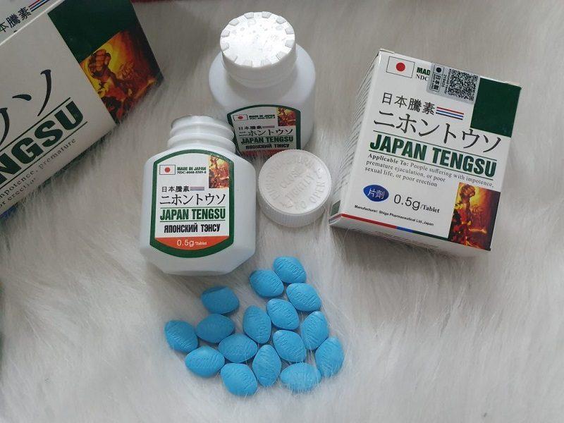 Japan Tengsu là một trong những loại thuốc chống xuất tinh sớm phổ biến nhất hiện nay