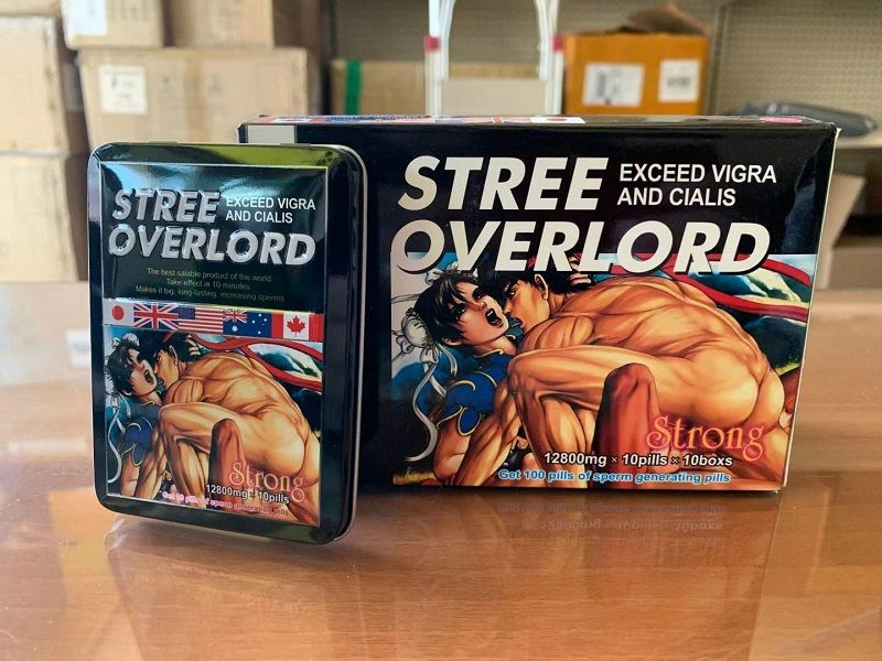 Stree Overlord là thuốc cường dương, tăng cường sinh lực hiệu quả