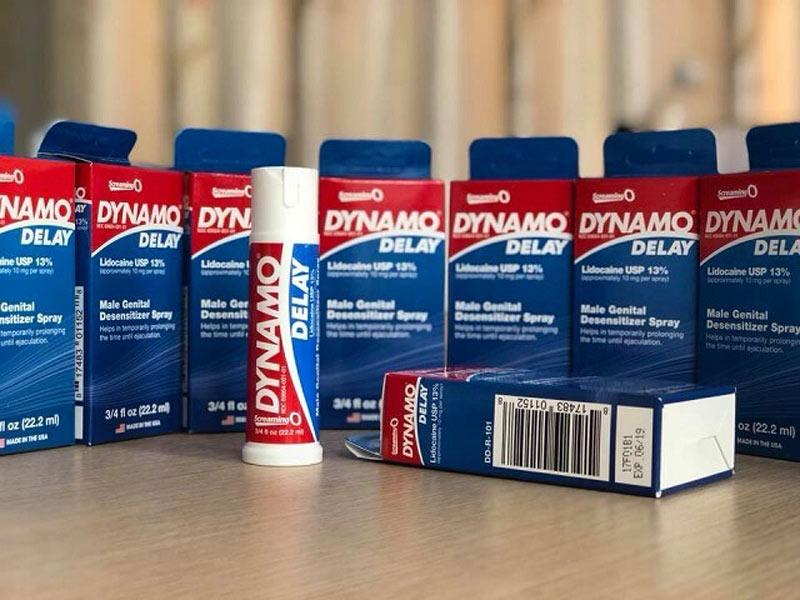 Thuốc chống xuất tinh sớm Dynamo là sản phẩm uy tín, được cánh mày râu tin dùng