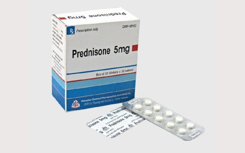 Bị mẩn ngứa uống thuốc gì nhanh khỏi? - Prednisolone