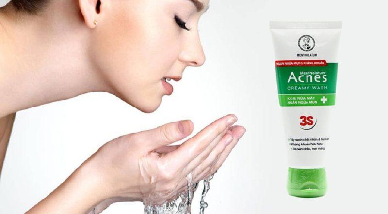 Các thành phần trong thuốc Acnes Creamy Wash kháng khuẩn mạnh, giảm sưng viêm ở mụn