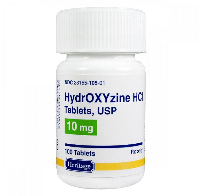 Hydroxyzine hiện là loại thuốc được nhiều người sử dụng hiện nay để trị bệnh ngoài da