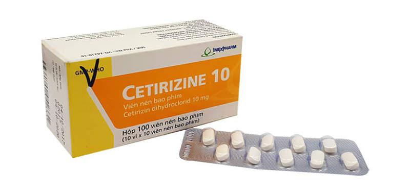 Thuốc trị nổi mề đay Loratadine cho hiệu quả tức thì