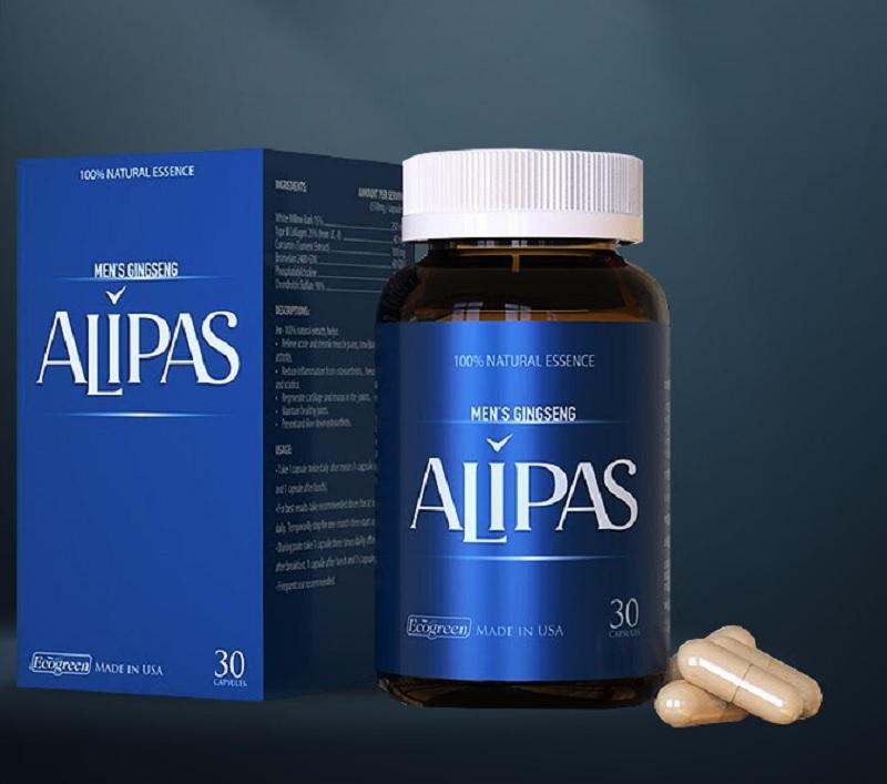 Sâm Alipas giúp bổ sung sinh lực phái mạnh và chống xuất tinh sớm hiệu quả cho nam giới