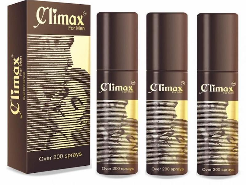 Thuốc xịt chống xuất tinh sớm Climax for men nâng cao bản lĩnh phái mạnh