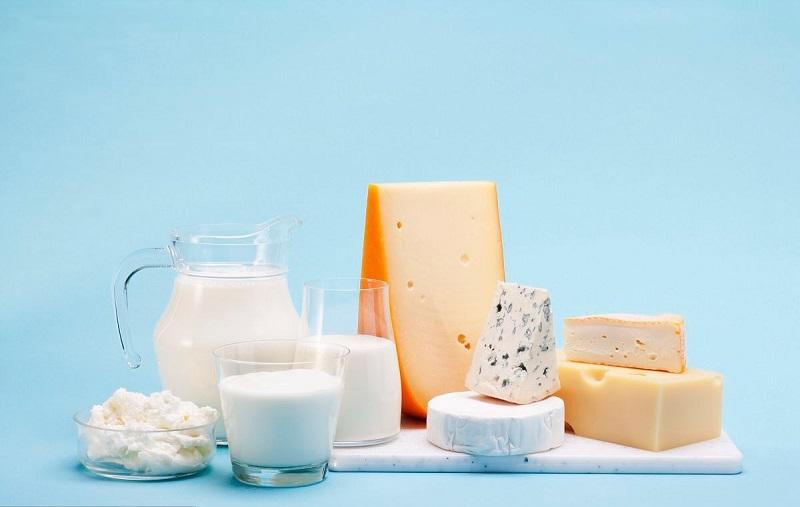 Các sản phẩm từ sữa cũng là sản phẩm nên tránh