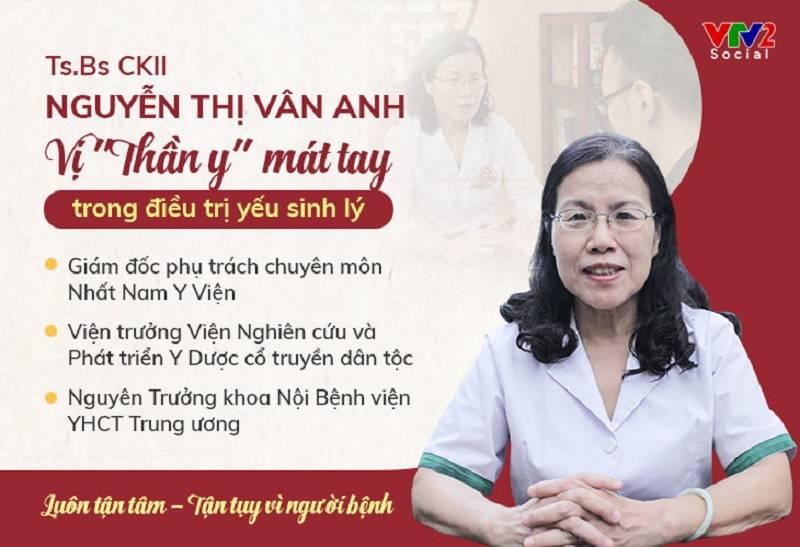 Bác sĩ Nguyễn Thị Vân Anh nói về bài thuốc Uy Long Đại Bổ