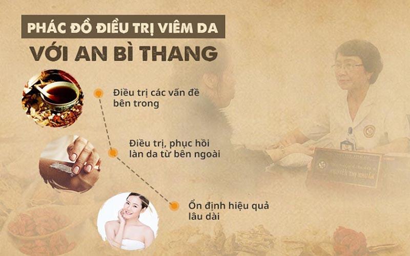 Phác đồ điều trị viêm da với An Bì Thang
