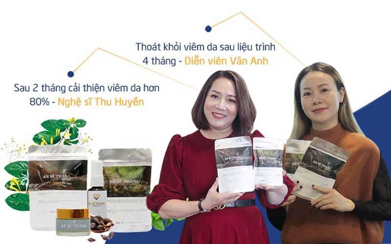 Diễn viên Vân Anh và Thu Huyền đều nhận được kết quả tốt sau khi dùng bài thuốc An Bì Thang