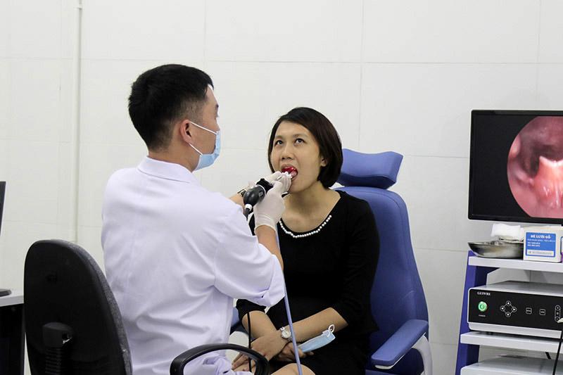 Bệnh viện Tai Mũi Họng Quân dân 102 kết hợp đông - tây y trong thăm khám