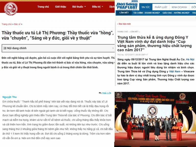 Bác sĩ Lê Phương và bài thuốc chữa ho nhận được rất nhiều phản hồi tích cực từ người bệnh và báo chí