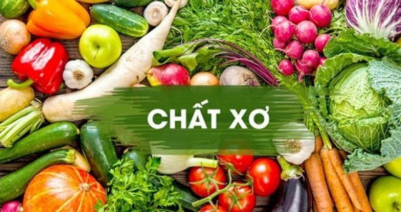 Tăng cường bổ sung chất xơ từ rau xanh, trái cây