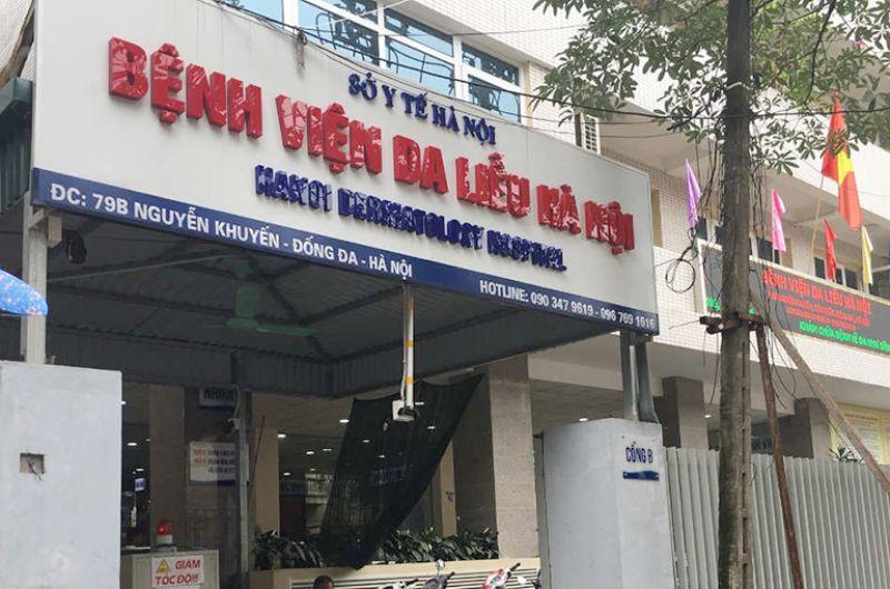 Hình ảnh bệnh viện da liễu Hà Nội