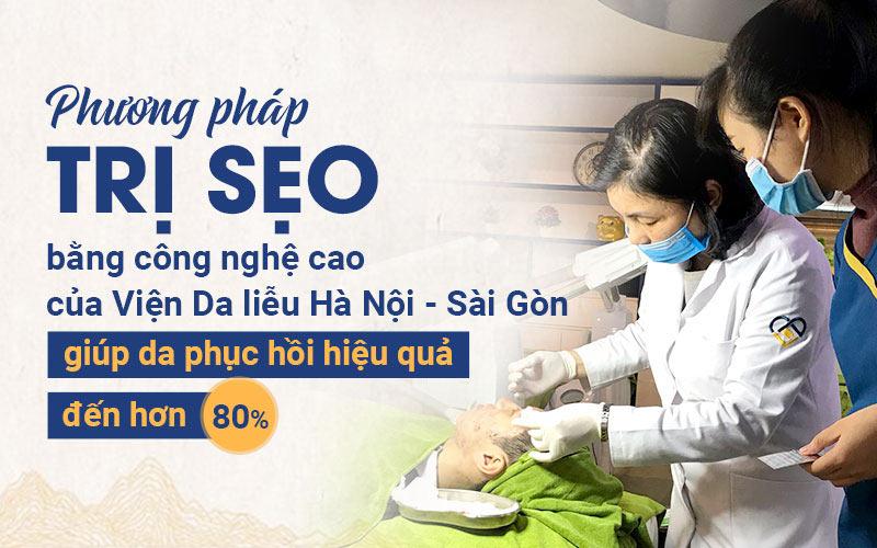 Giải pháp loại bỏ sẹo rỗ do mụn trứng cá hiệu quả cao tại Viện Da liễu Hà Nội - Sài Gòn