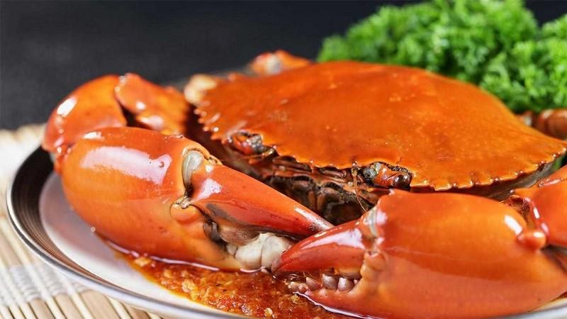 Cua biển là một trong những thực phẩm chữa rối loạn cương dương hiệu quả