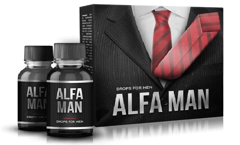 Alfa man giúp nam giới tự tin lấy lại phong độ