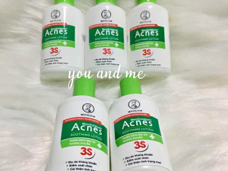 Acnes là sản phẩm phổ biến trên thị trường