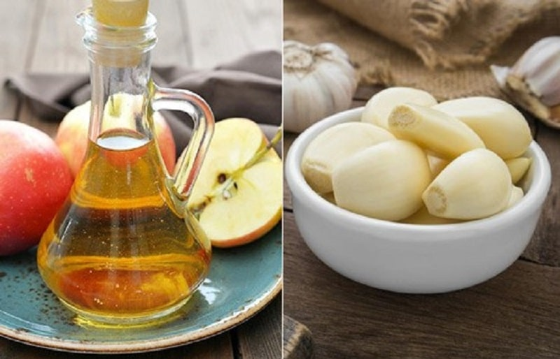 Giấm táo thường được sử dụng với để làm trắng và sáng da bởi chứa nhiều acid lactic