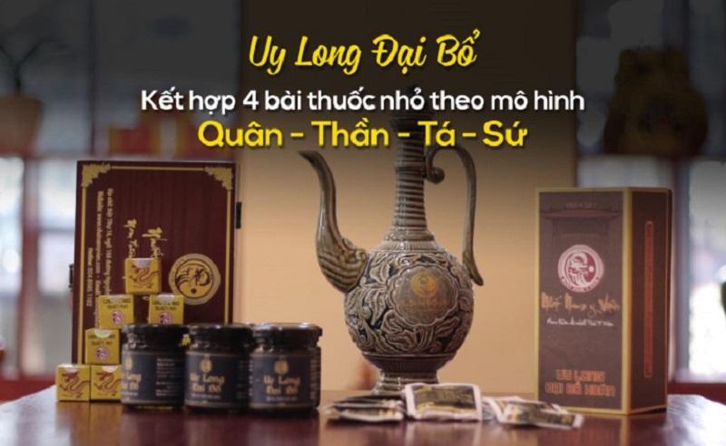 """Tăng cường sinh lý bằng """"thần dược sung sướng"""" của vua Minh Mạng - Uy Long Đại Bổ"""