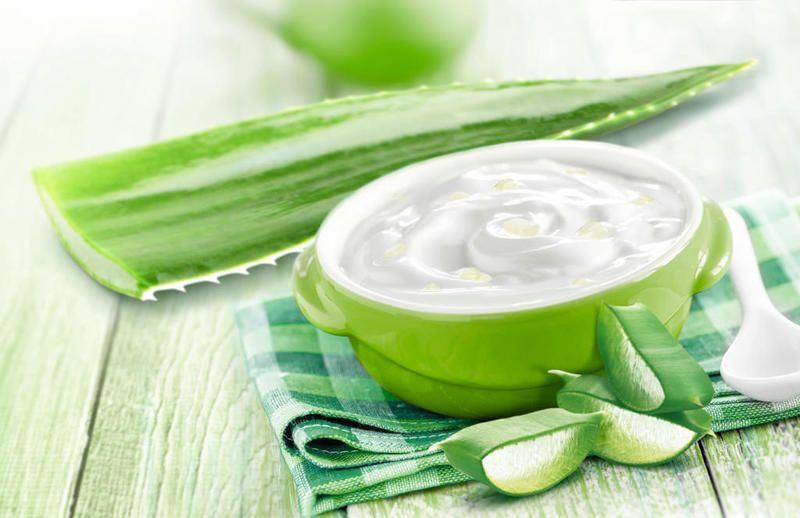 Công thức nha đam và sữa chua không đường sẽ giúp da mịn màng, trắng sáng