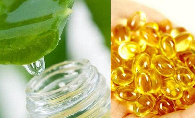 Nha đam và vitamin E sẽ giúp nâng cao sức đề kháng cho da