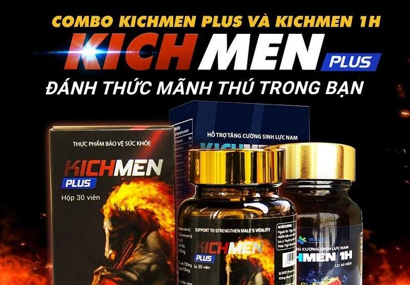Kichmen Plus tăng cương lưu thông máu tới dương vật, cải thiện khả năng cương cứng hiệu quả